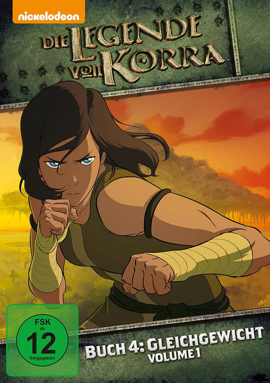 Die Legende von Korra - Buch Vier: Gleichgewicht / Vol. 01 (DVD)