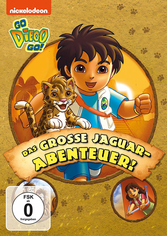 Go Diego Go! - Das grosse Jaguar-Abenteuer (DVD)