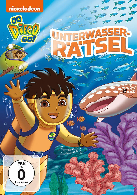 Go Diego Go! - Unterwasser-Rätsel (DVD)