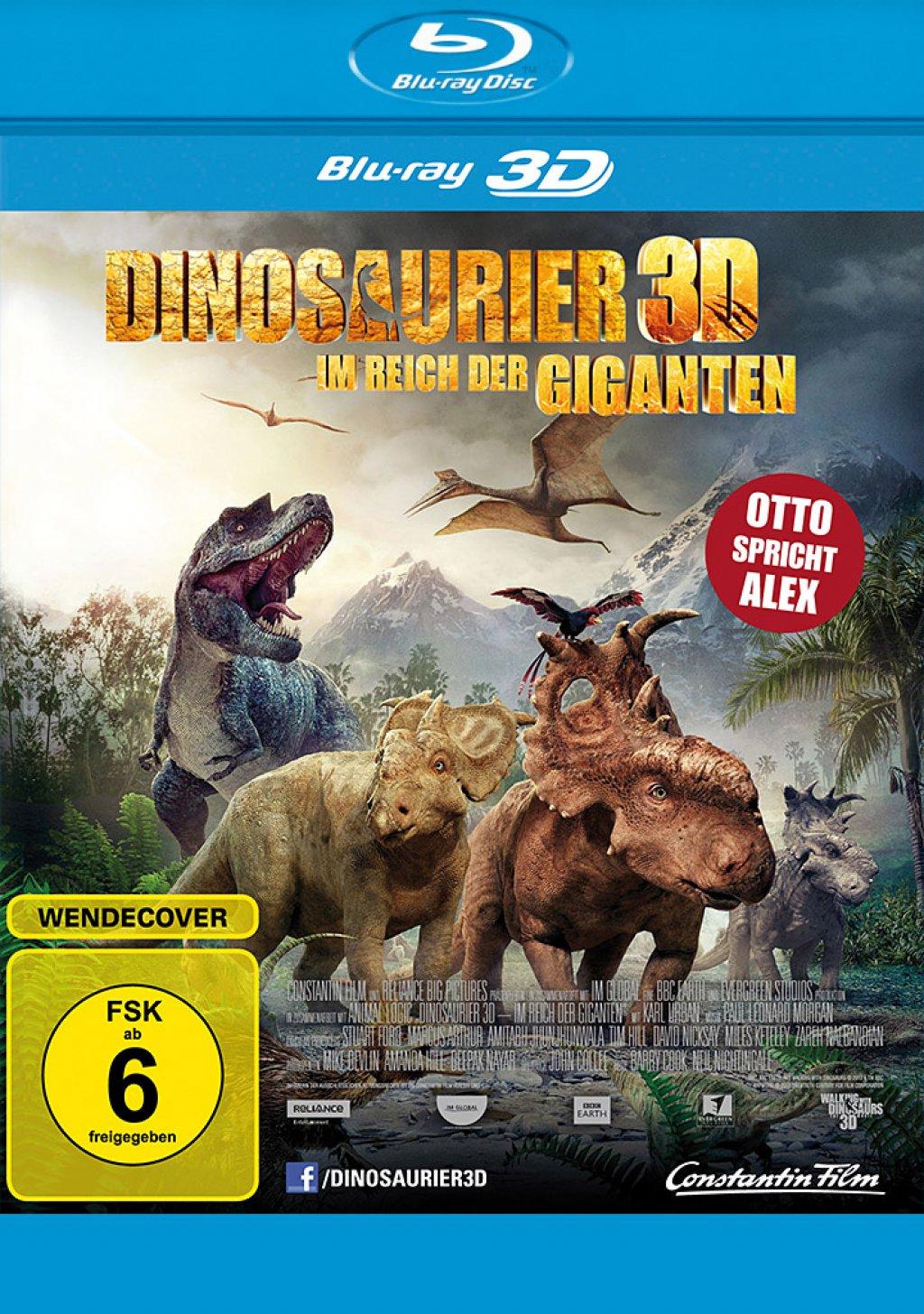 Dinosaurier 3D - Im Reich der Giganten - Blu-ray 3D + 2D (Blu-ray)