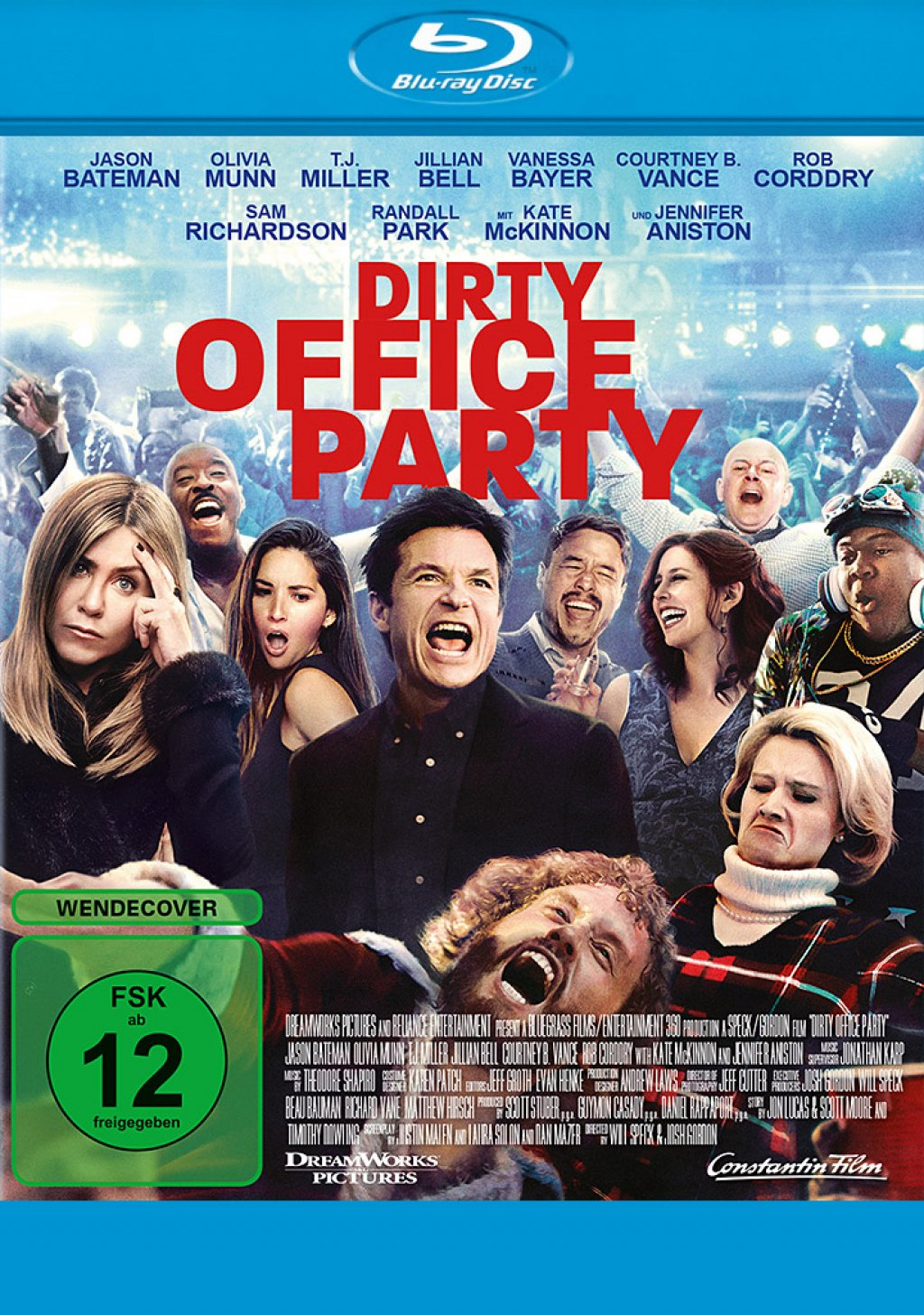 Dirty Office Party - Unrated (Blu-ray)