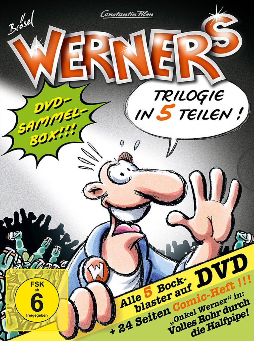 Werner 1-5 - Comicbox (DVD)