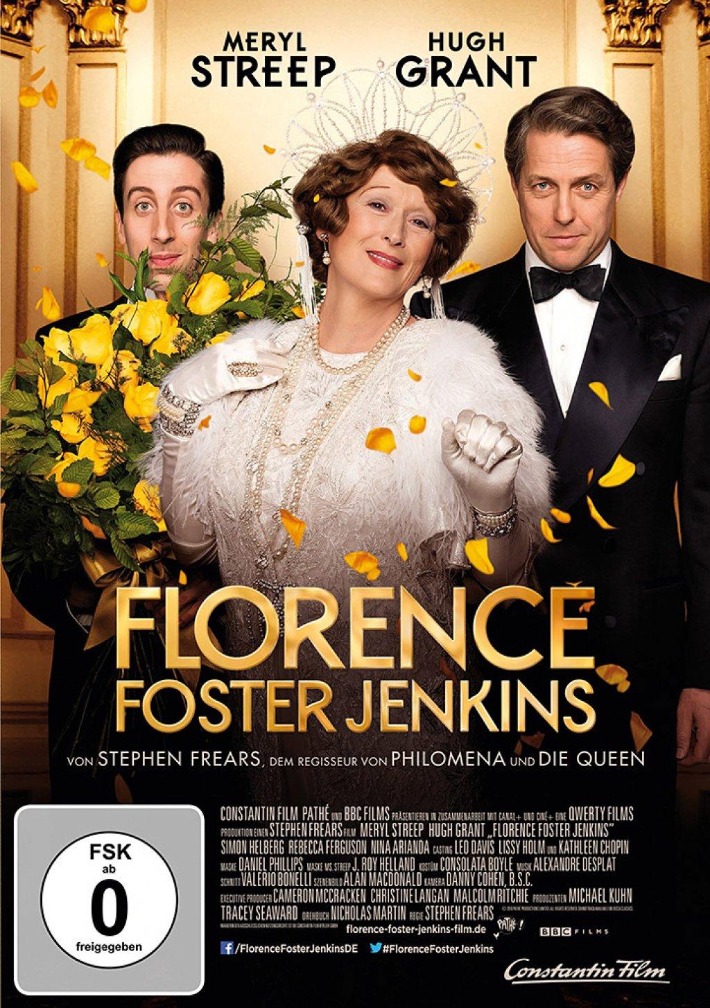 Florence Foster Jenkins (DVD)