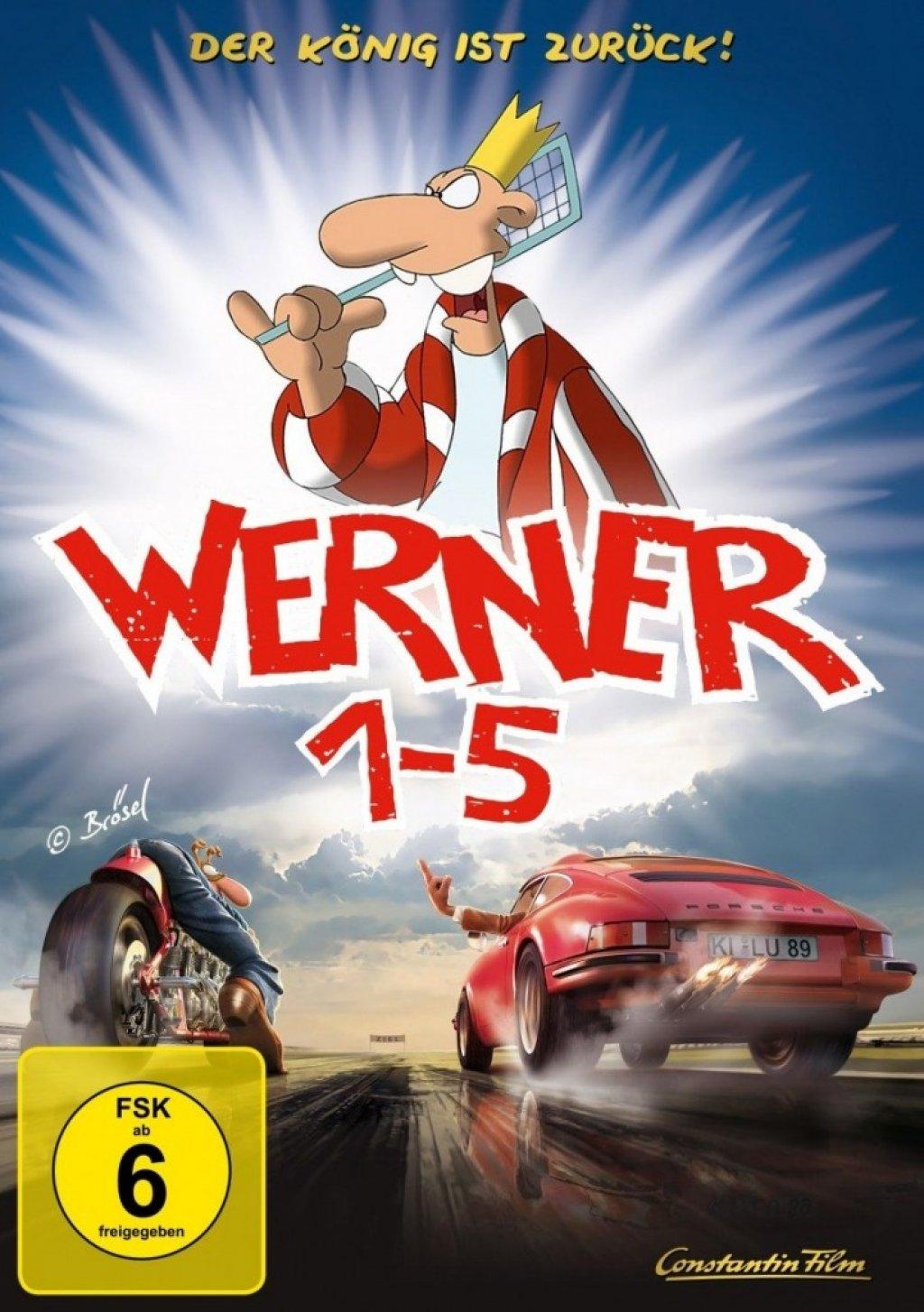 Werner 1-5 - Königbox (DVD)