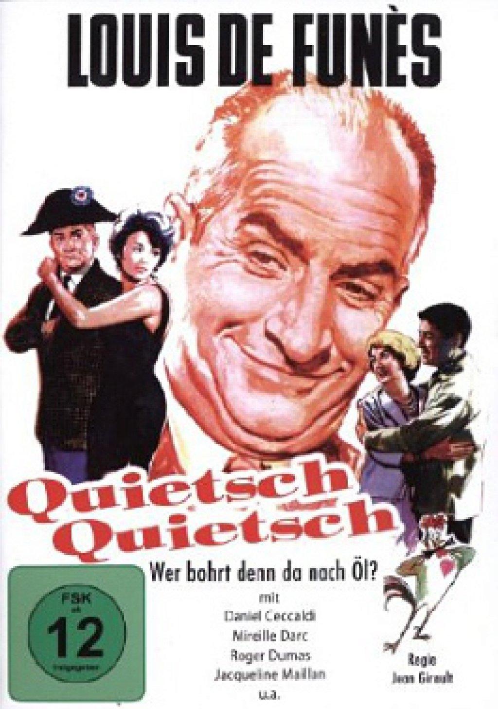 Quietsch Quietsch, wer bohrt denn da nach Öl? (DVD)