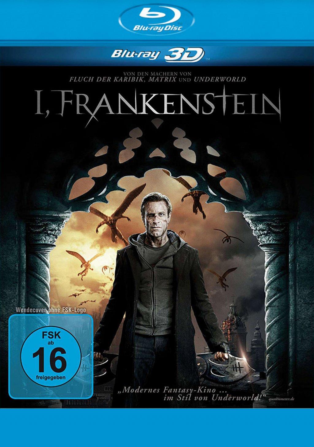 I, Frankenstein - Blu-ray 3D (Blu-ray)