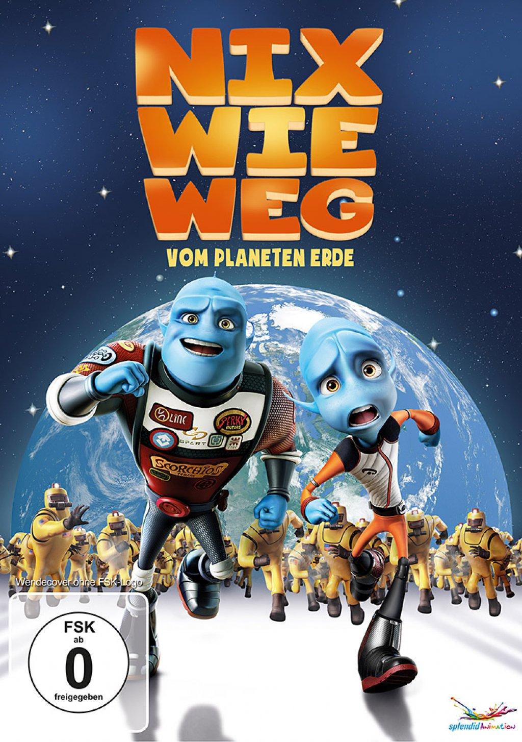 Nix wie weg - vom Planeten Erde (DVD)