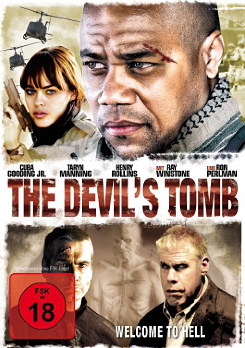 The Devil's Tomb - Welcome to Hell (DVD)