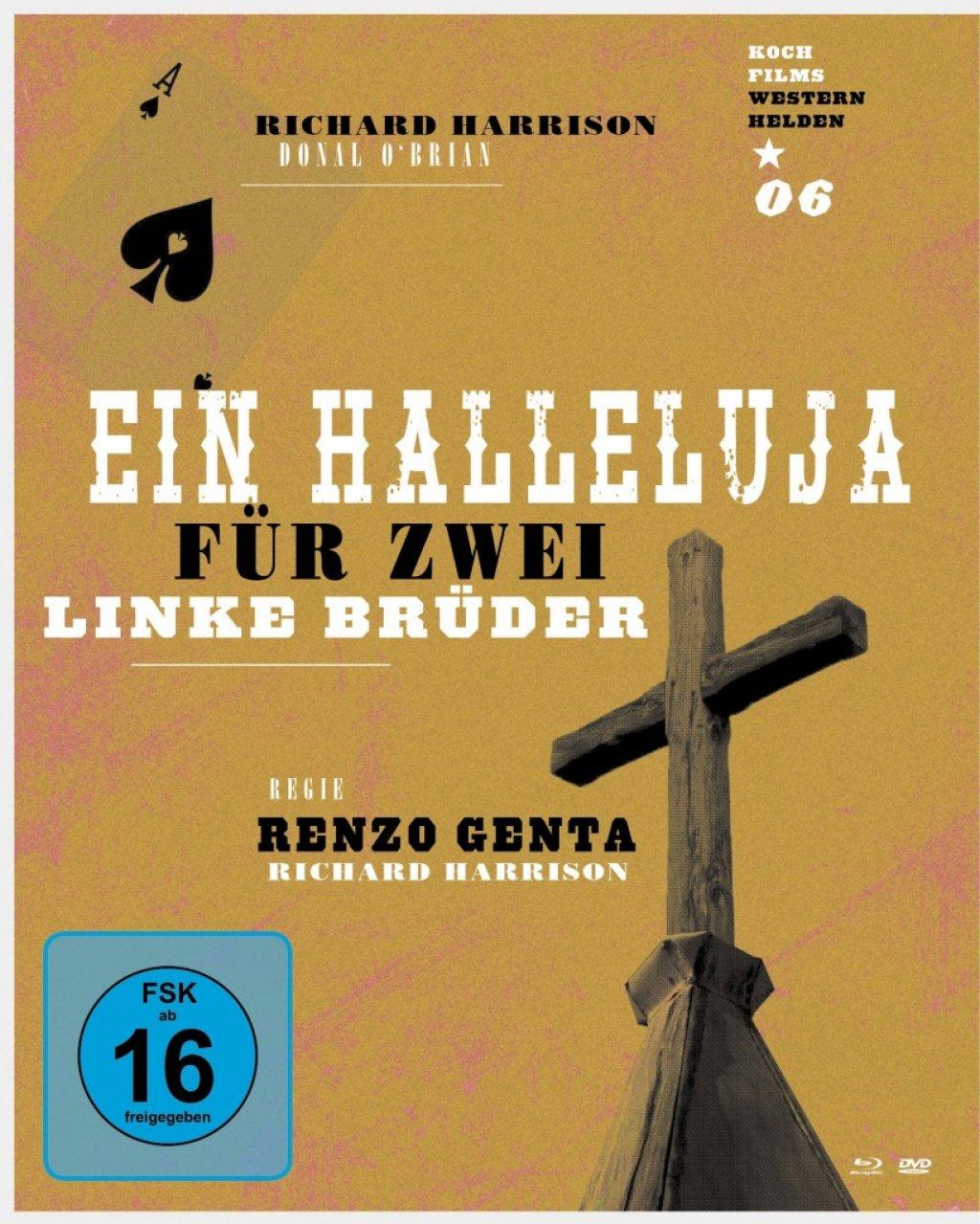 Ein Halleluja für zwei linke Brüder - Westernhelden #6 (Blu-ray)