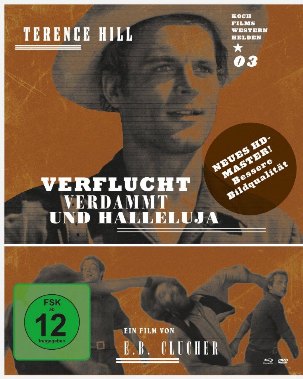 Verflucht, verdammt und Halleluja - Westernhelden #3 (Blu-ray)