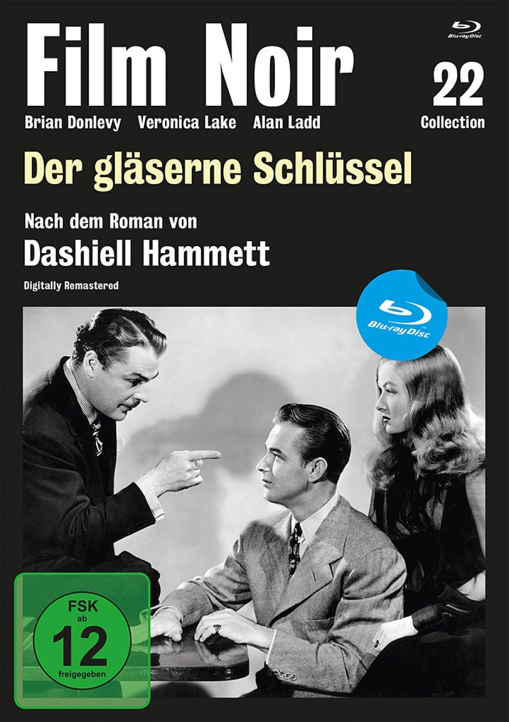 Der gläserne Schlüssel - Film Noir Collection #22 (Blu-ray)