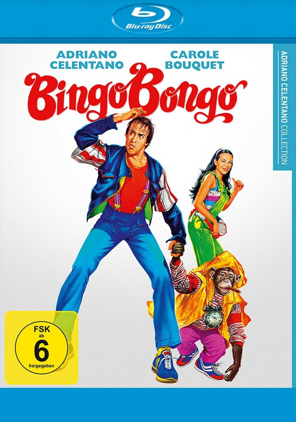 Bingo Bongo - Adriano Celentano Collection (Blu-ray)