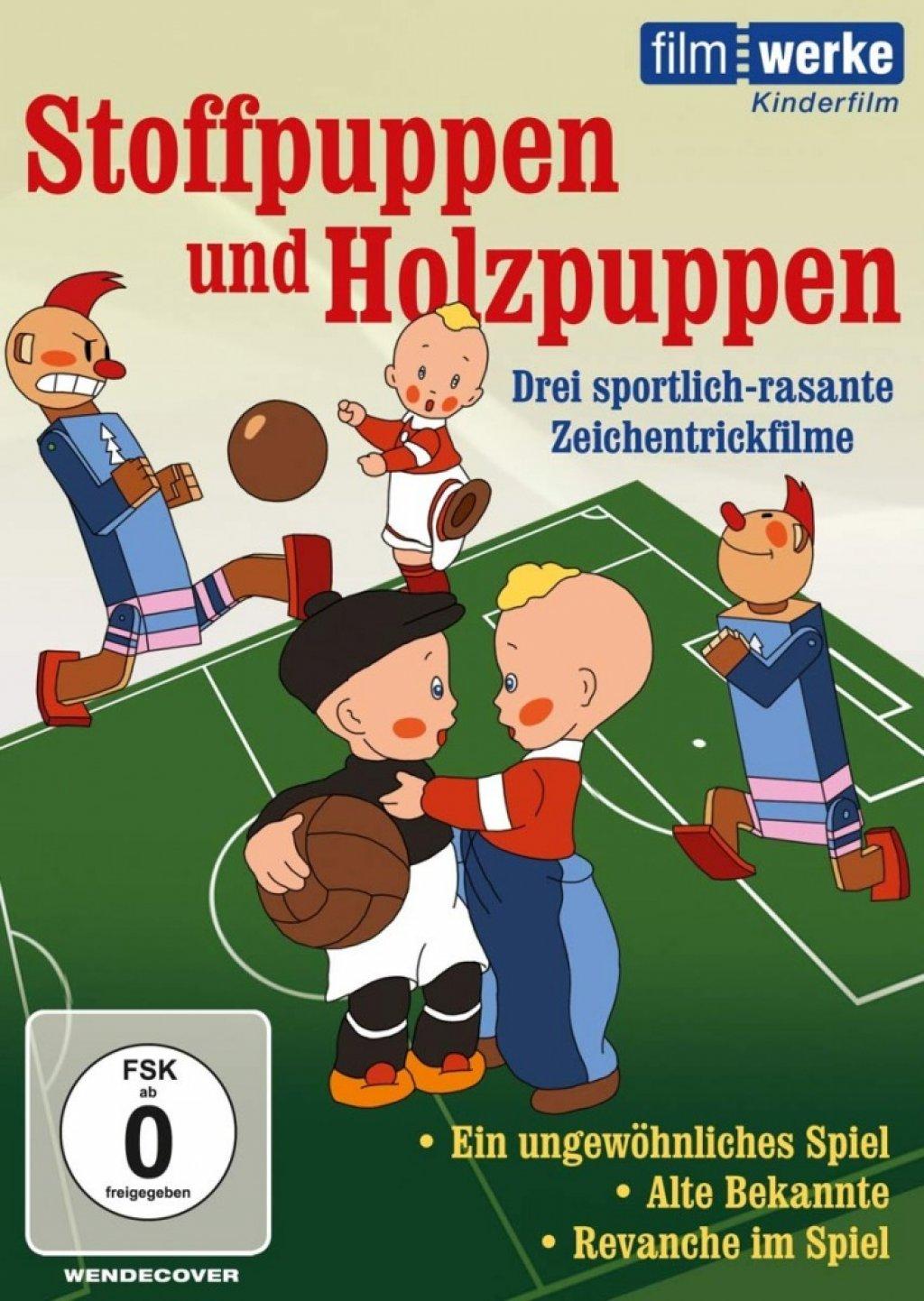 Stoffpuppen und Holzpuppen (DVD)