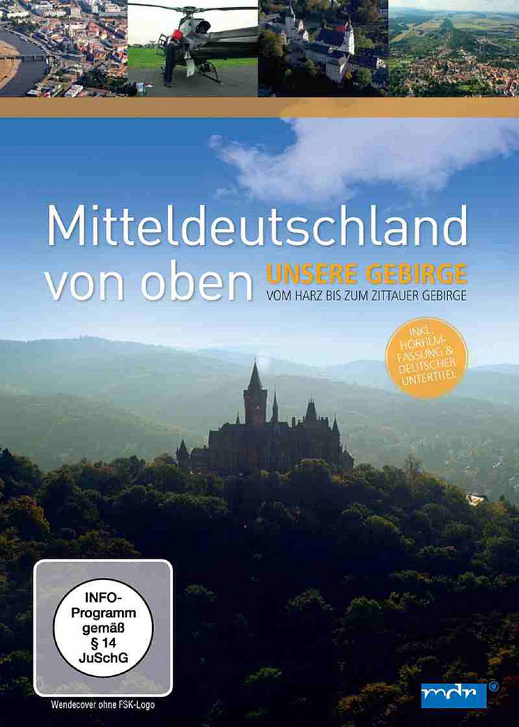 Mitteldeutschland von oben - Unsere Gebirge (DVD)