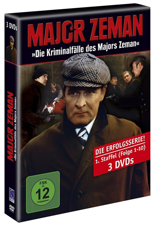 Die Kriminalfälle des Majors Zeman - Staffel 01 / Folge 01-10 (DVD)