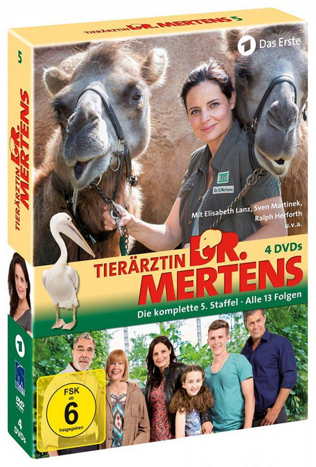 Tierärztin Dr. Mertens - Staffel 5 (DVD)