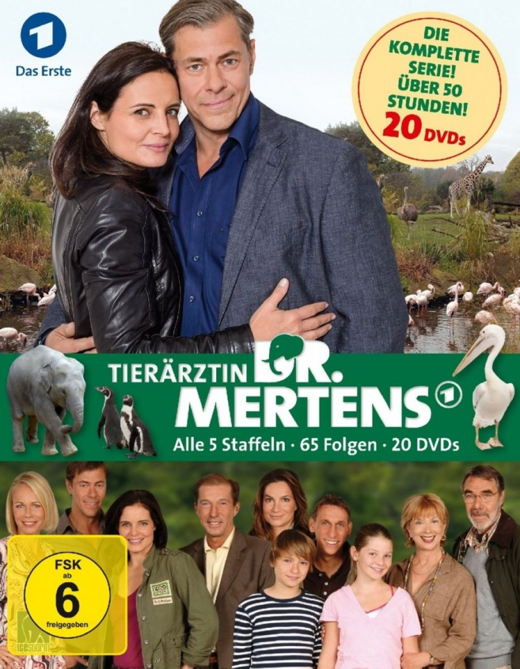 Tierärztin Dr. Mertens - Staffel 1-5 (DVD)