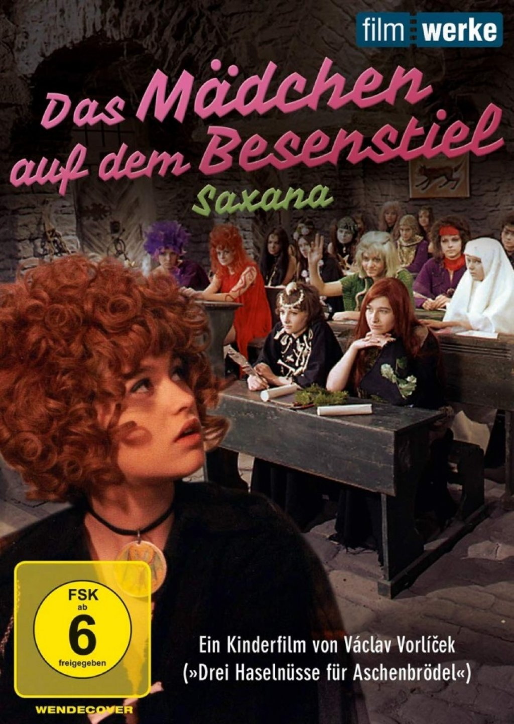 Saxana - Das Mädchen auf dem Besenstiel (DVD)