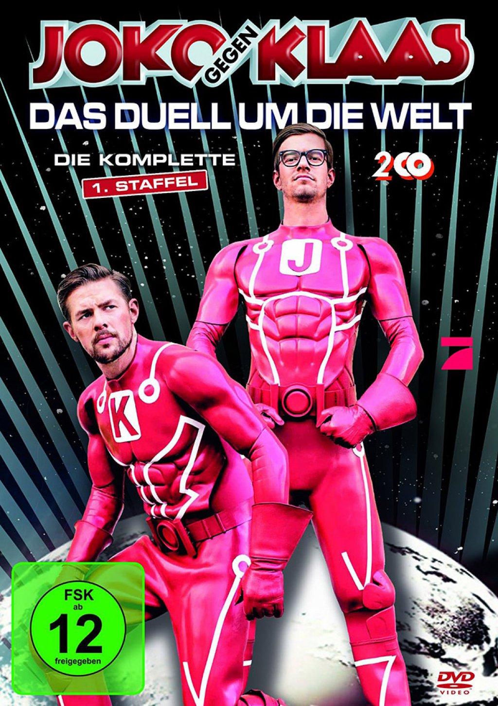 Joko gegen Klaas - Das Duell um die Welt - Staffel 01 (DVD)