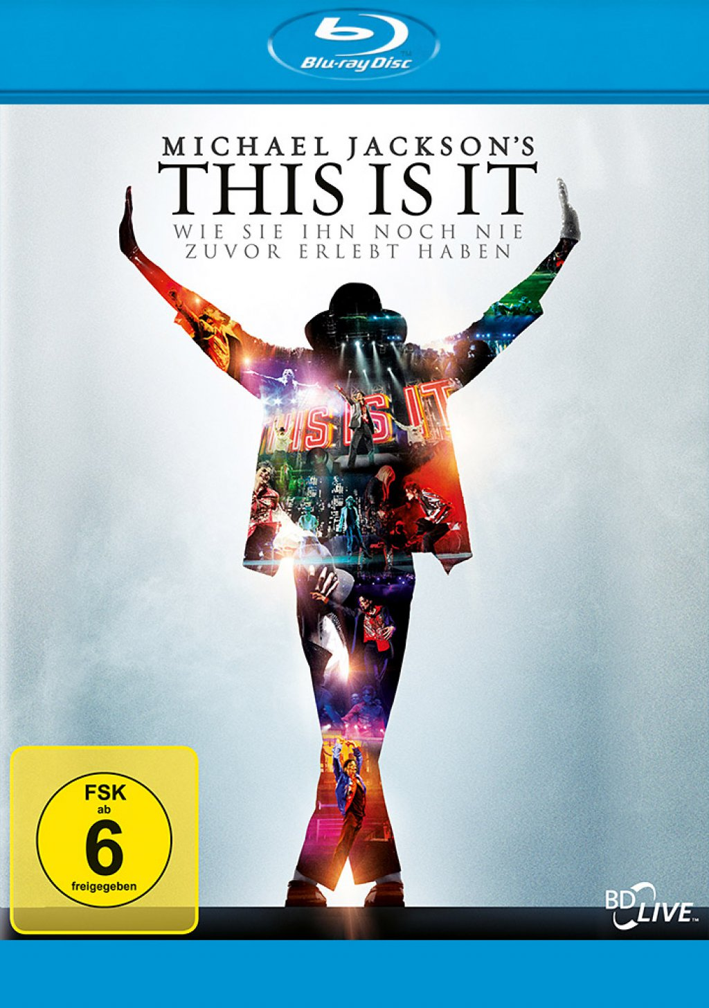 Michael Jackson's - This Is It (Blu-ray)