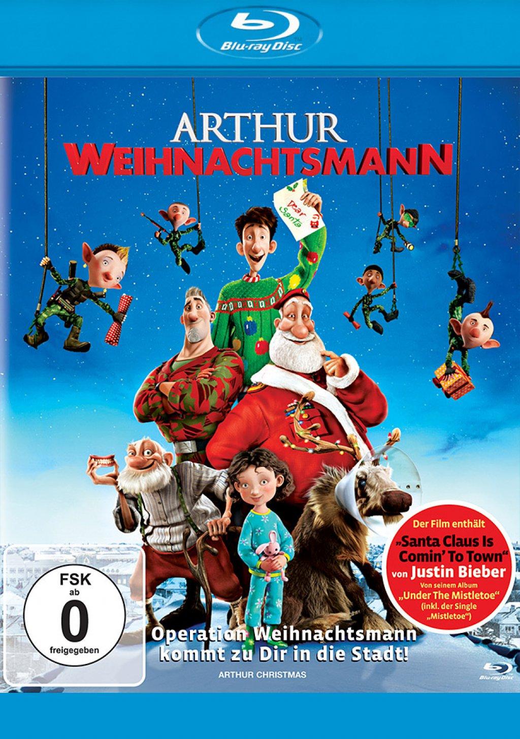 Arthur Weihnachtsmann (Blu-ray)