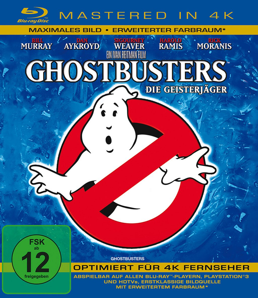 Ghostbusters - Mastered in 4K (Blu-ray)