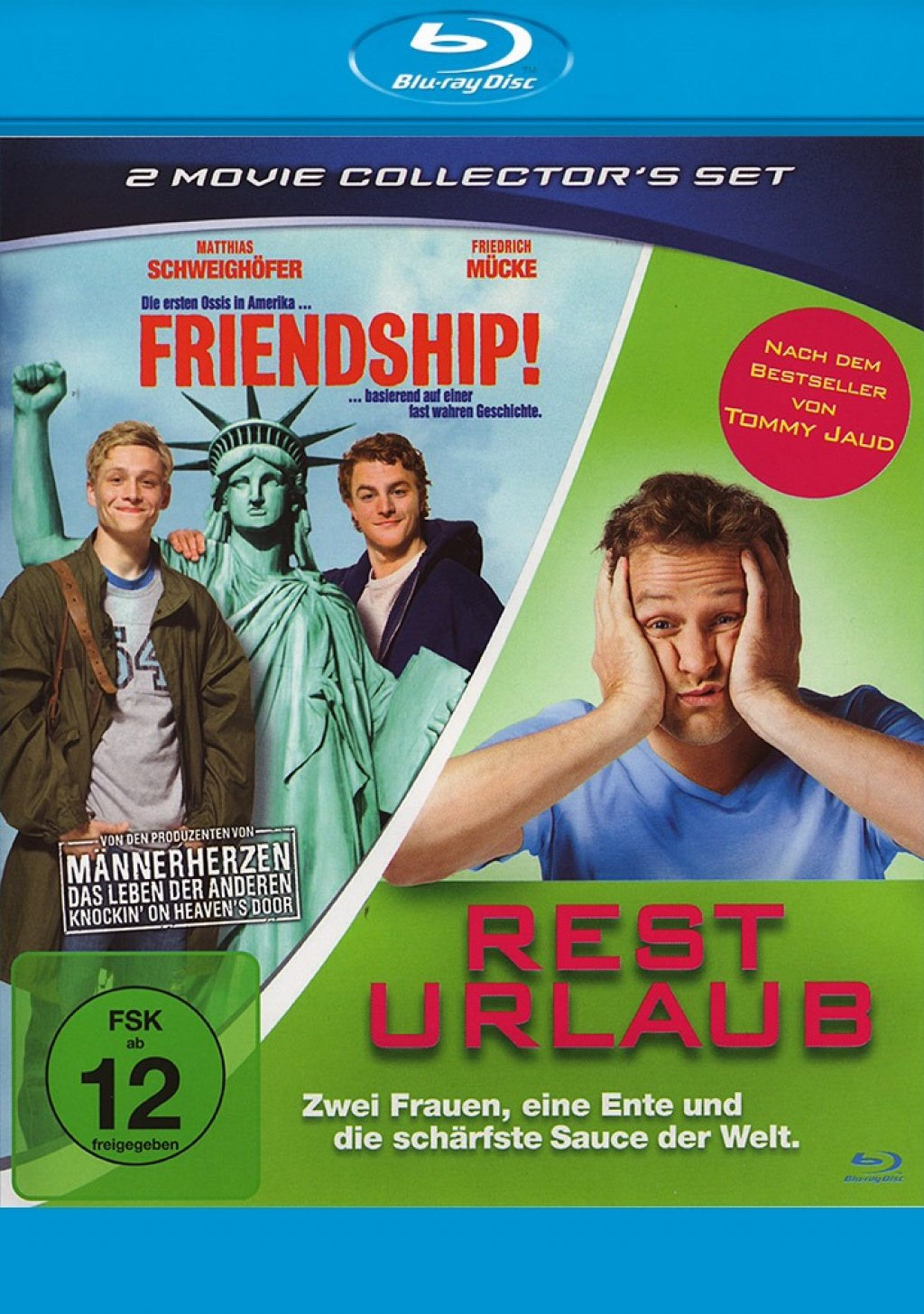 Friendship! & Resturlaub (Blu-ray)