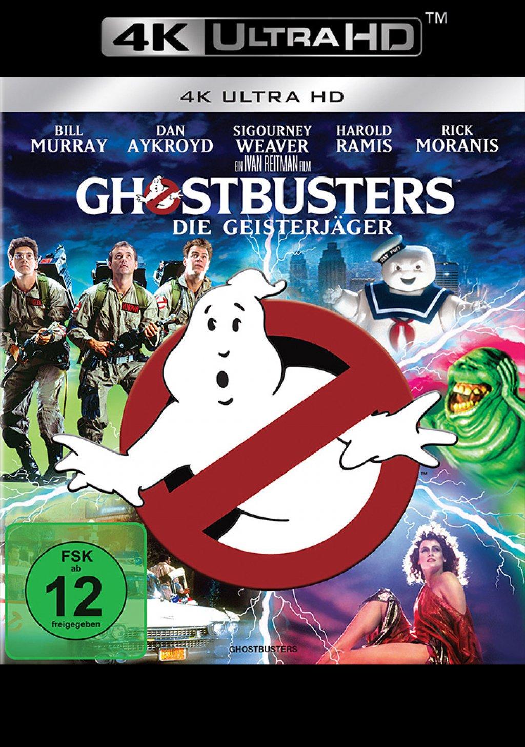 Ghostbusters - 4K Ultra HD Blu-ray (4K Ultra HD)