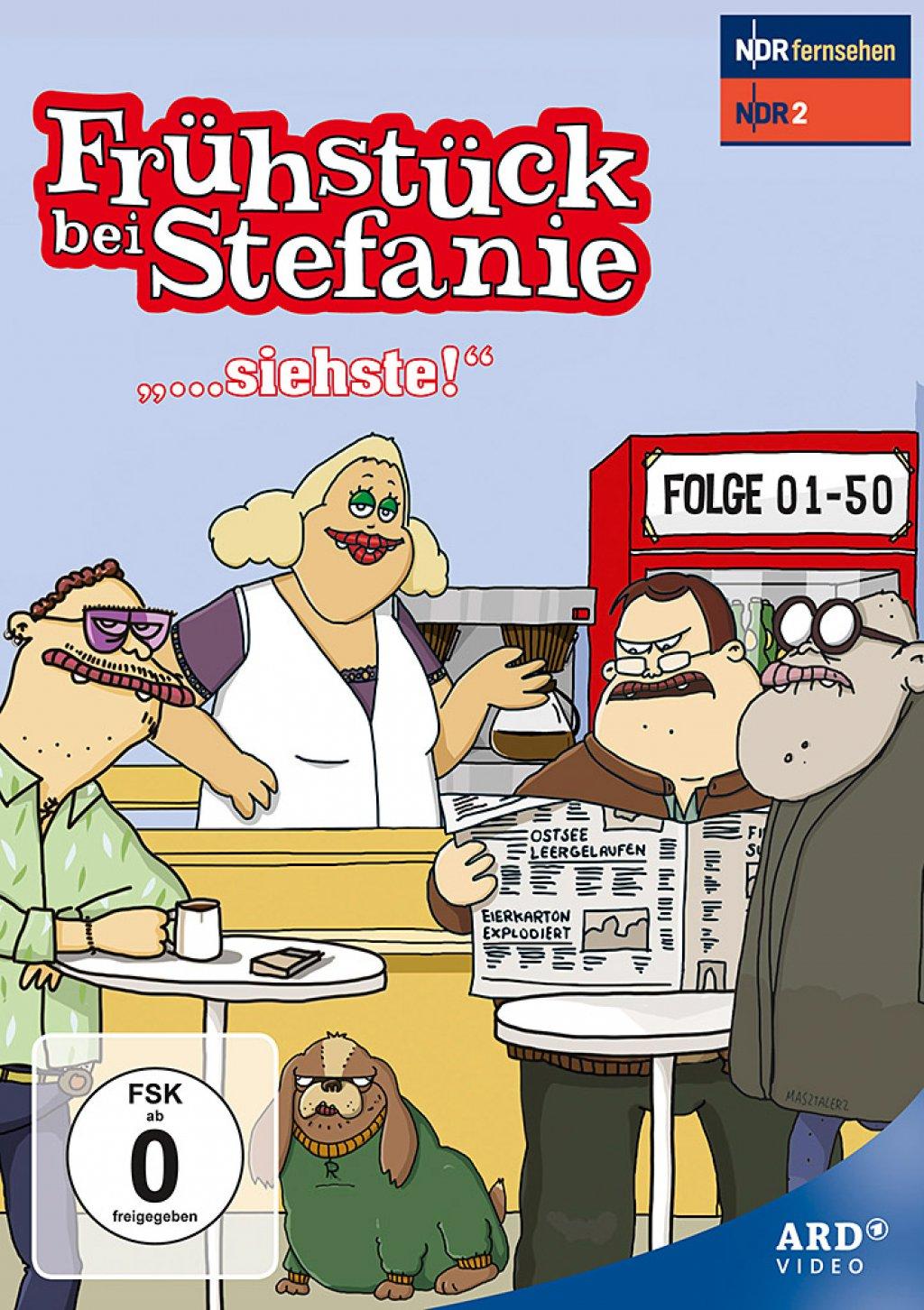 """Frühstück bei Stefanie - """"...siehste!"""" (DVD)"""