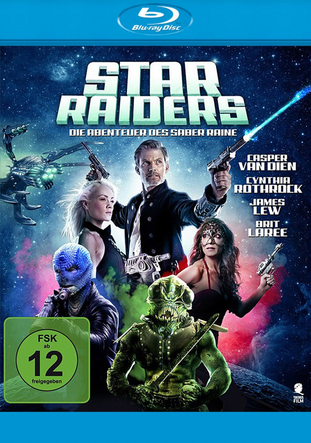 Star Raiders - Die Abenteuer des Saber Raine (Blu-ray)