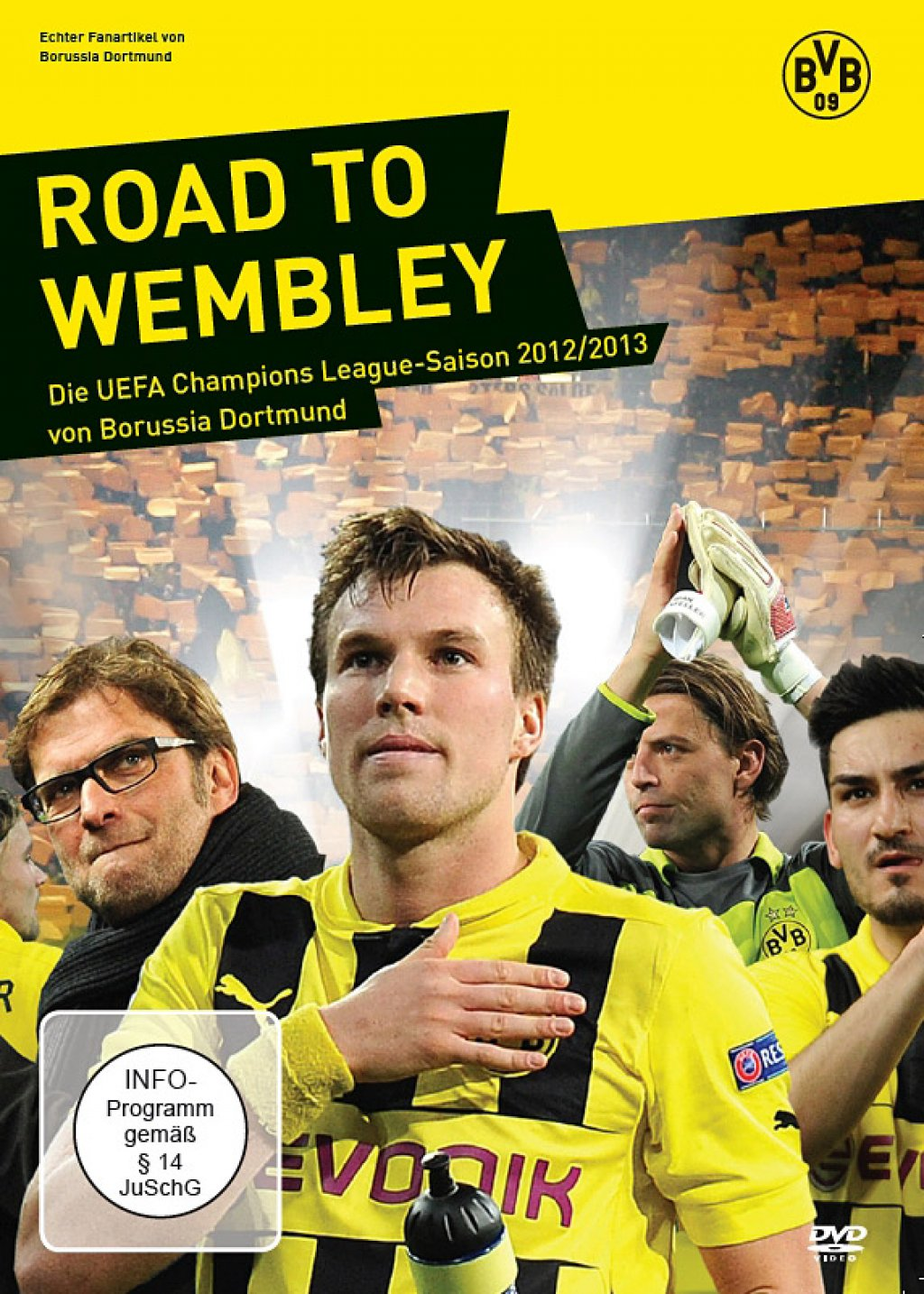 Road To Wembley - Die UEFA Champions League Saison 2012/2013 von Borussia Dortmund (DVD)