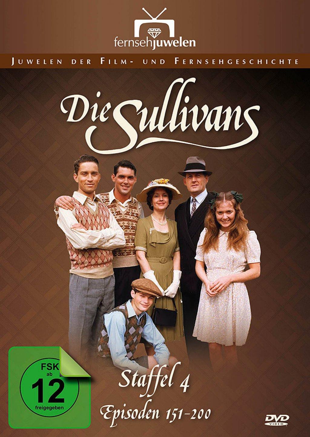 Die Sullivans - Staffel 4 / Episoden 151-200 (DVD)