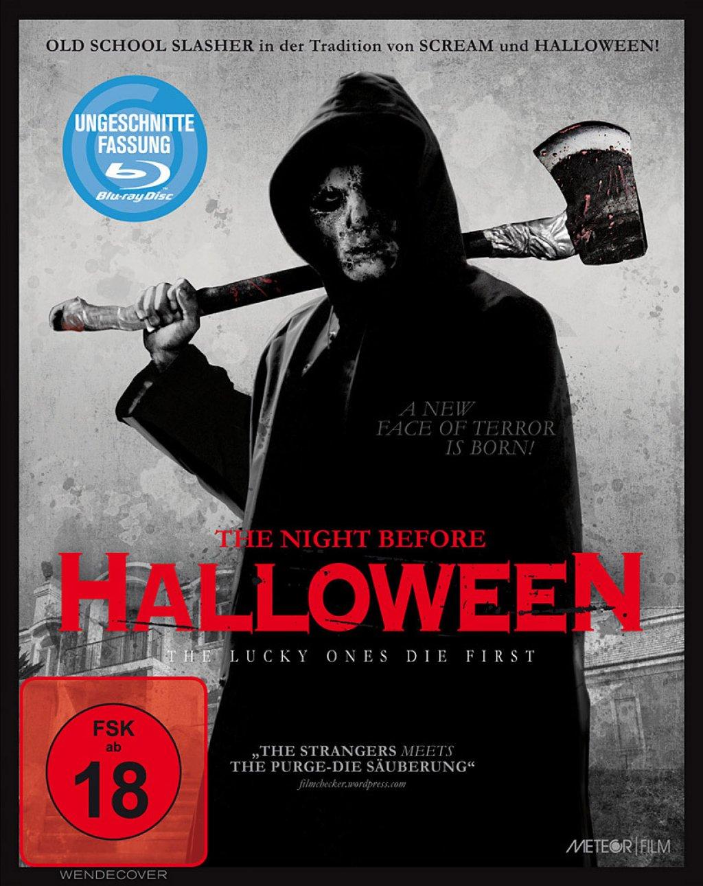 The Night Before Halloween - Uncut (Blu-ray)