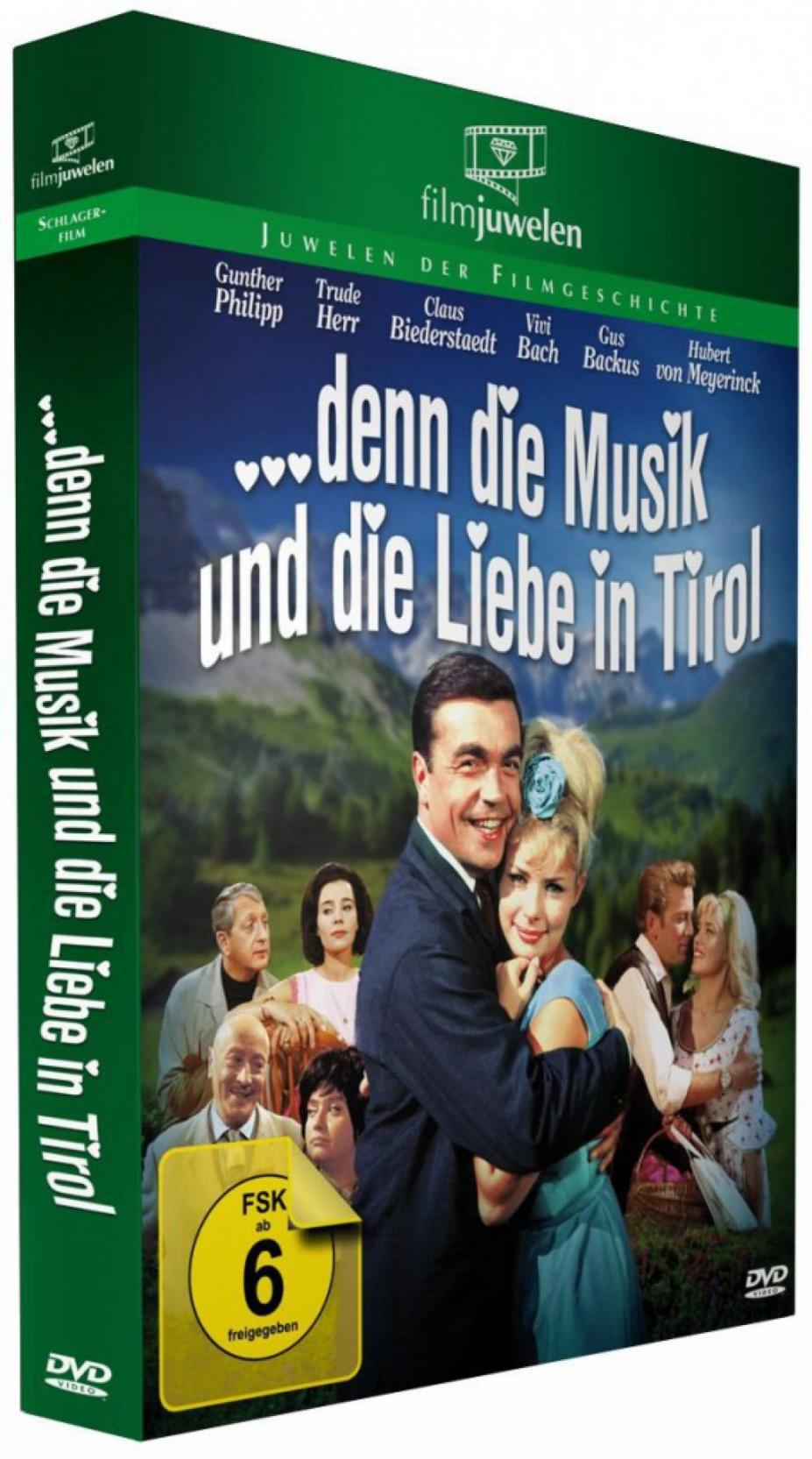 ... denn die Musik und die Liebe in Tirol (DVD)