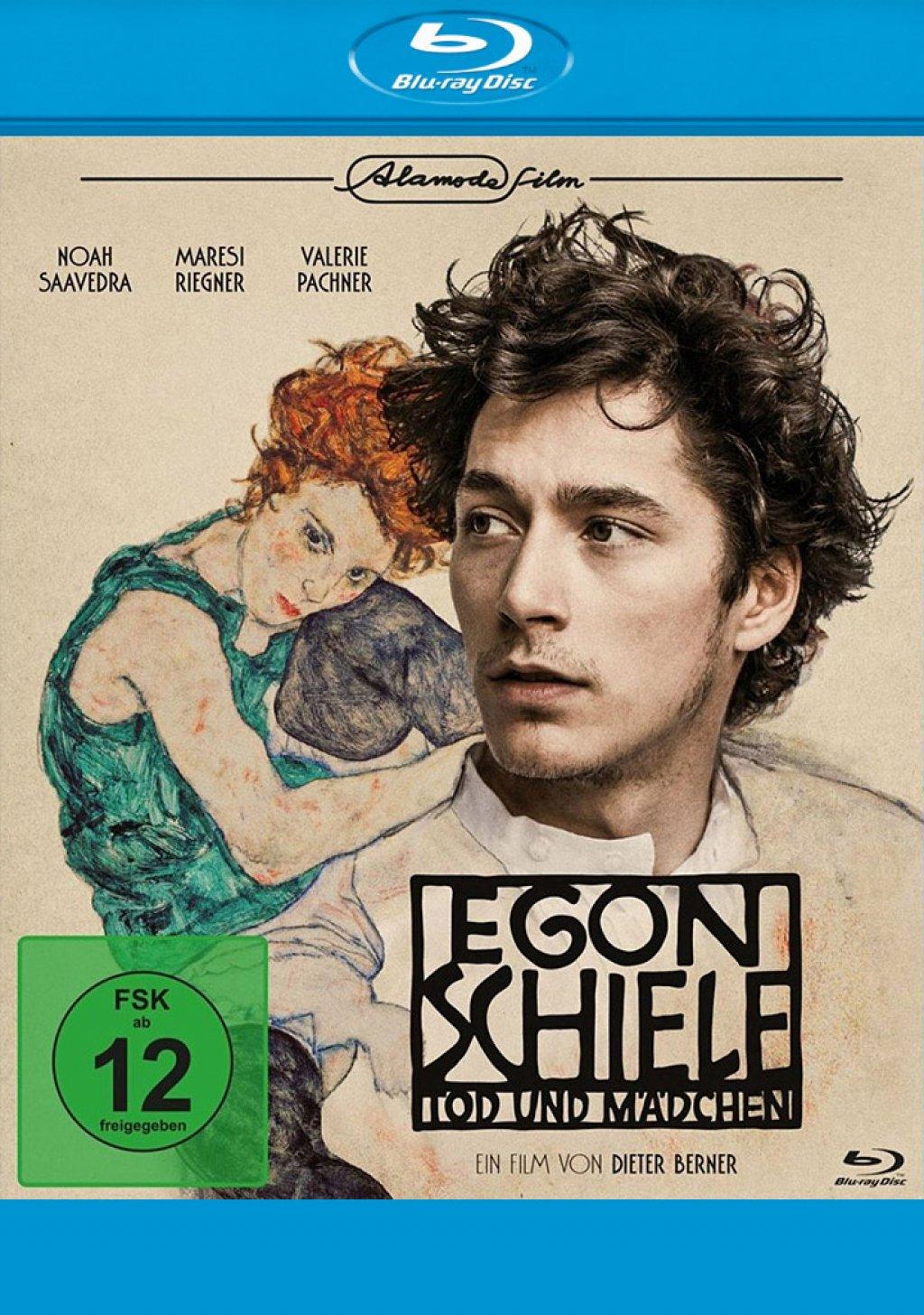 Egon Schiele - Tod und Mädchen (Blu-ray)