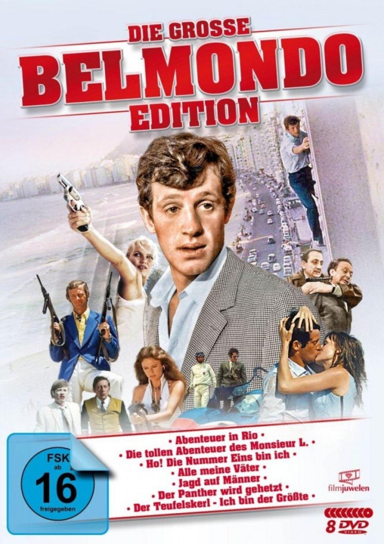 Die grosse Belmondo-Edition (DVD)