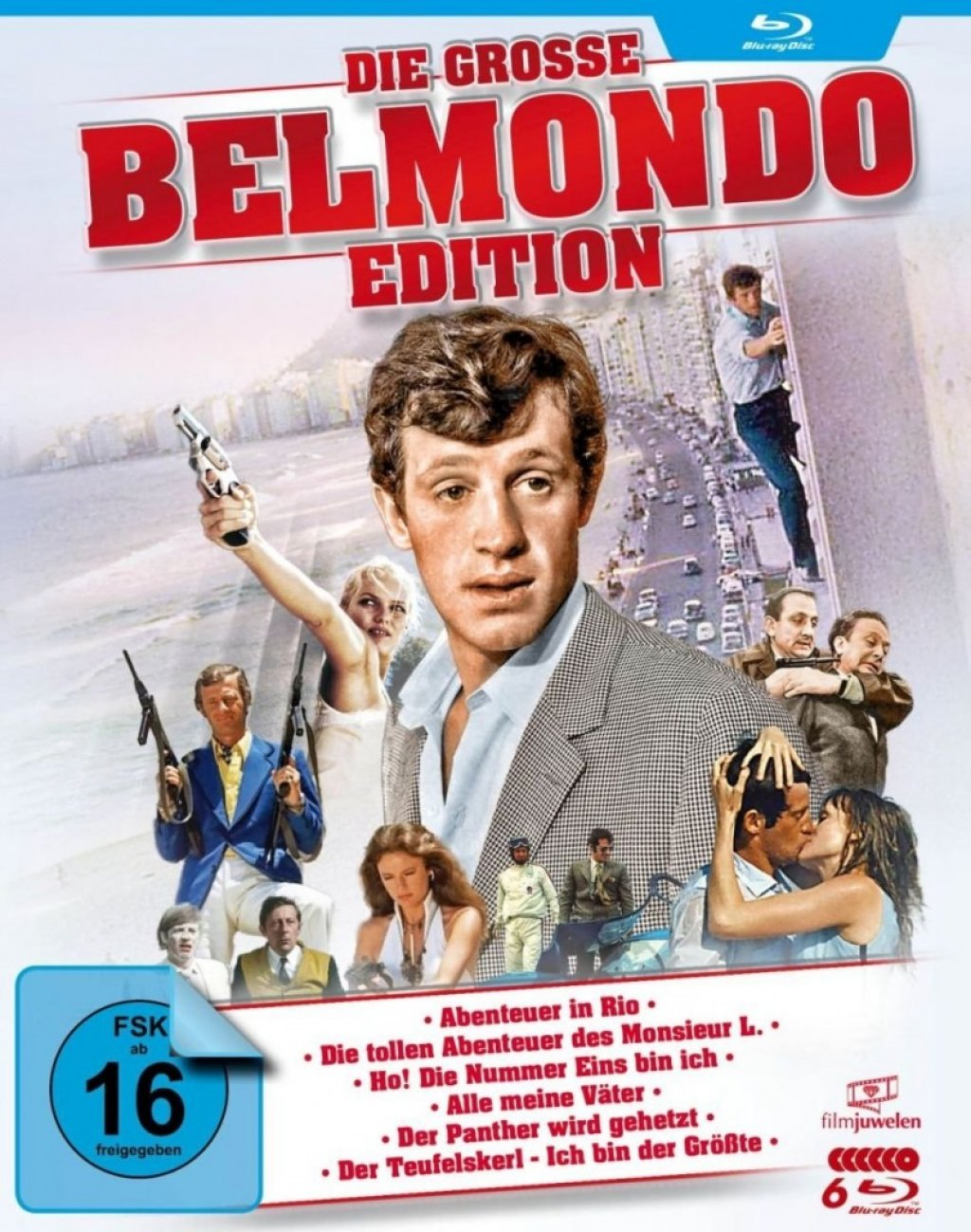 Die grosse Belmondo-Edition (Blu-ray)