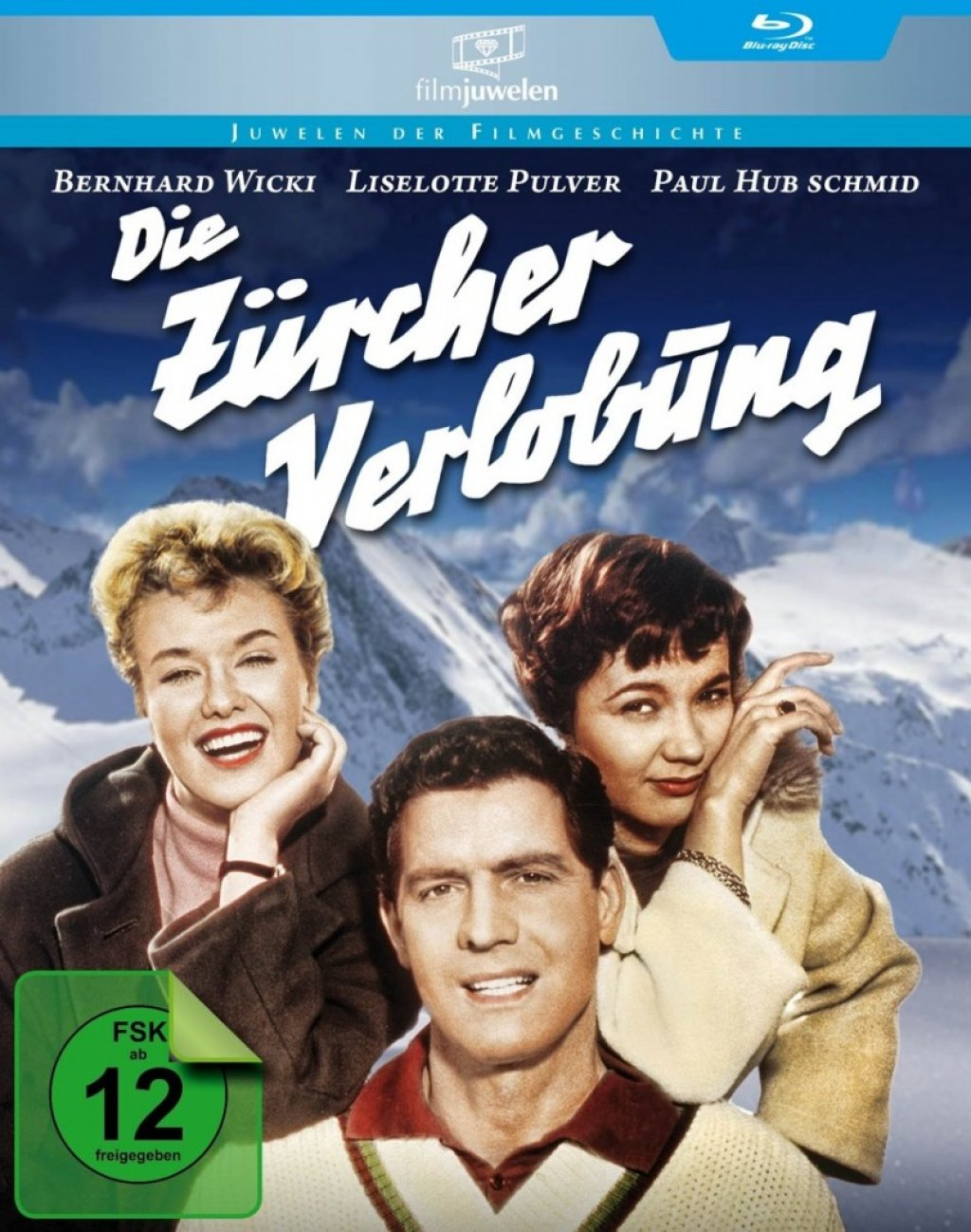 Die Zürcher Verlobung (Blu-ray)