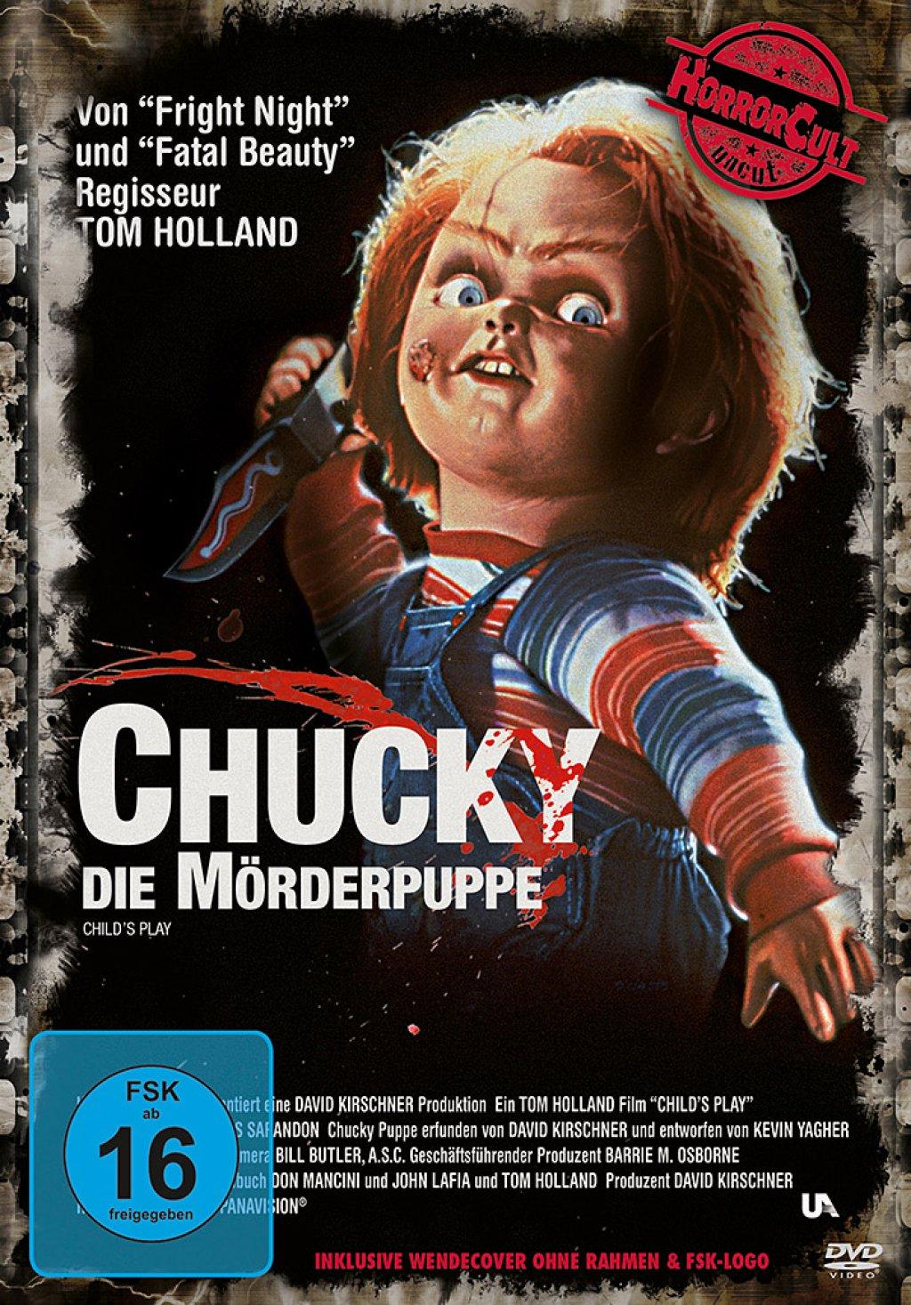 Chucky 1 - Die Mörderpuppe - Horror Cult Uncut (DVD)