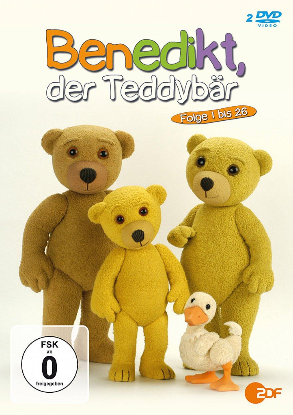 Benedikt, der Teddybär - Folge 01-26 (DVD)