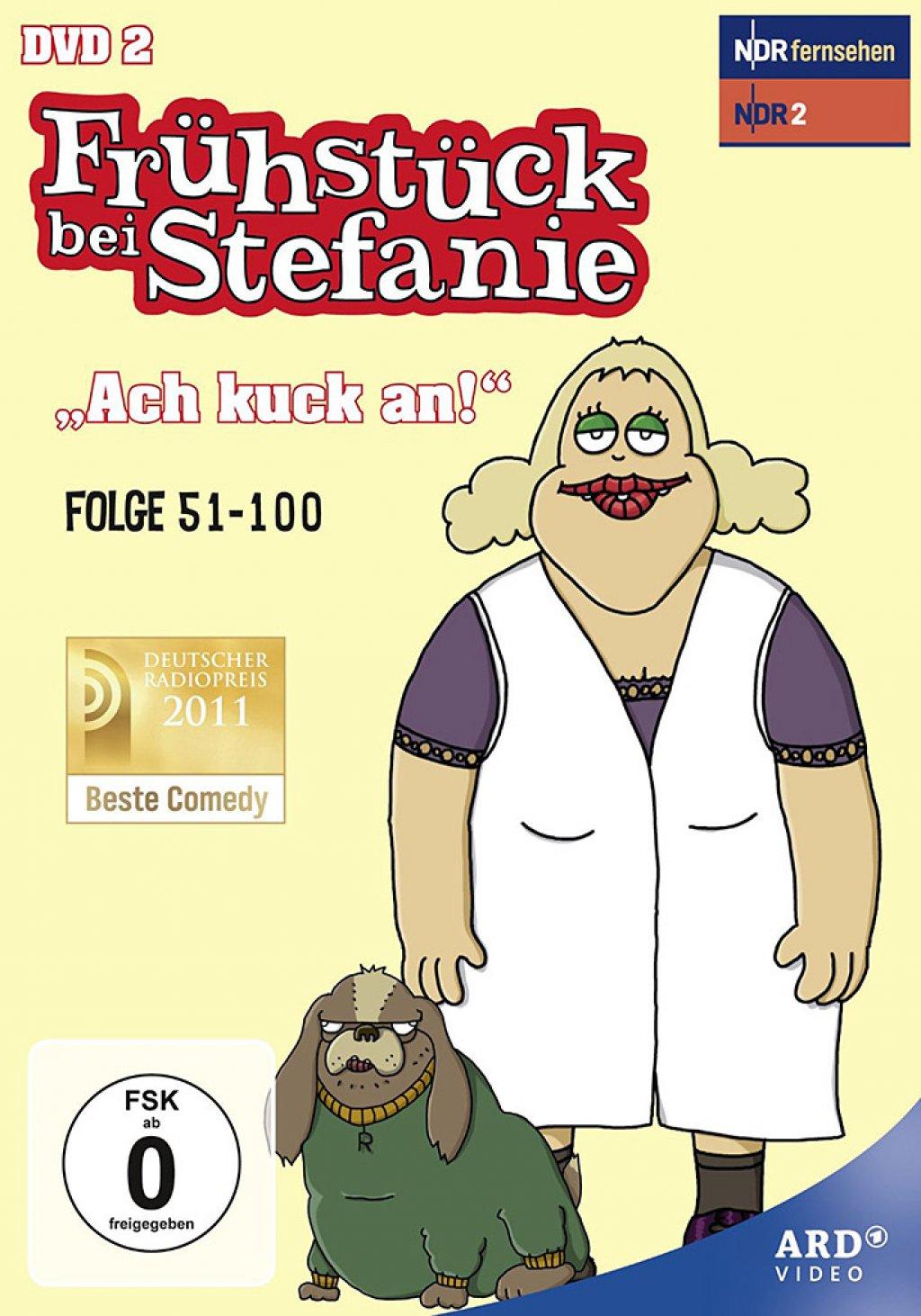 """Frühstück bei Stefanie 2 - """"Ach guck an!"""" (DVD)"""