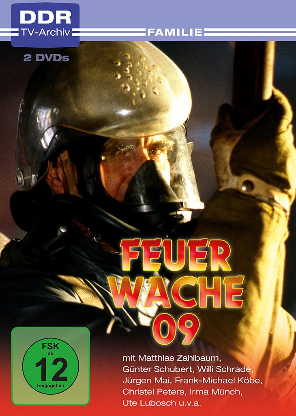 Feuerwache 09 - DDR-TV-Archiv (DVD)