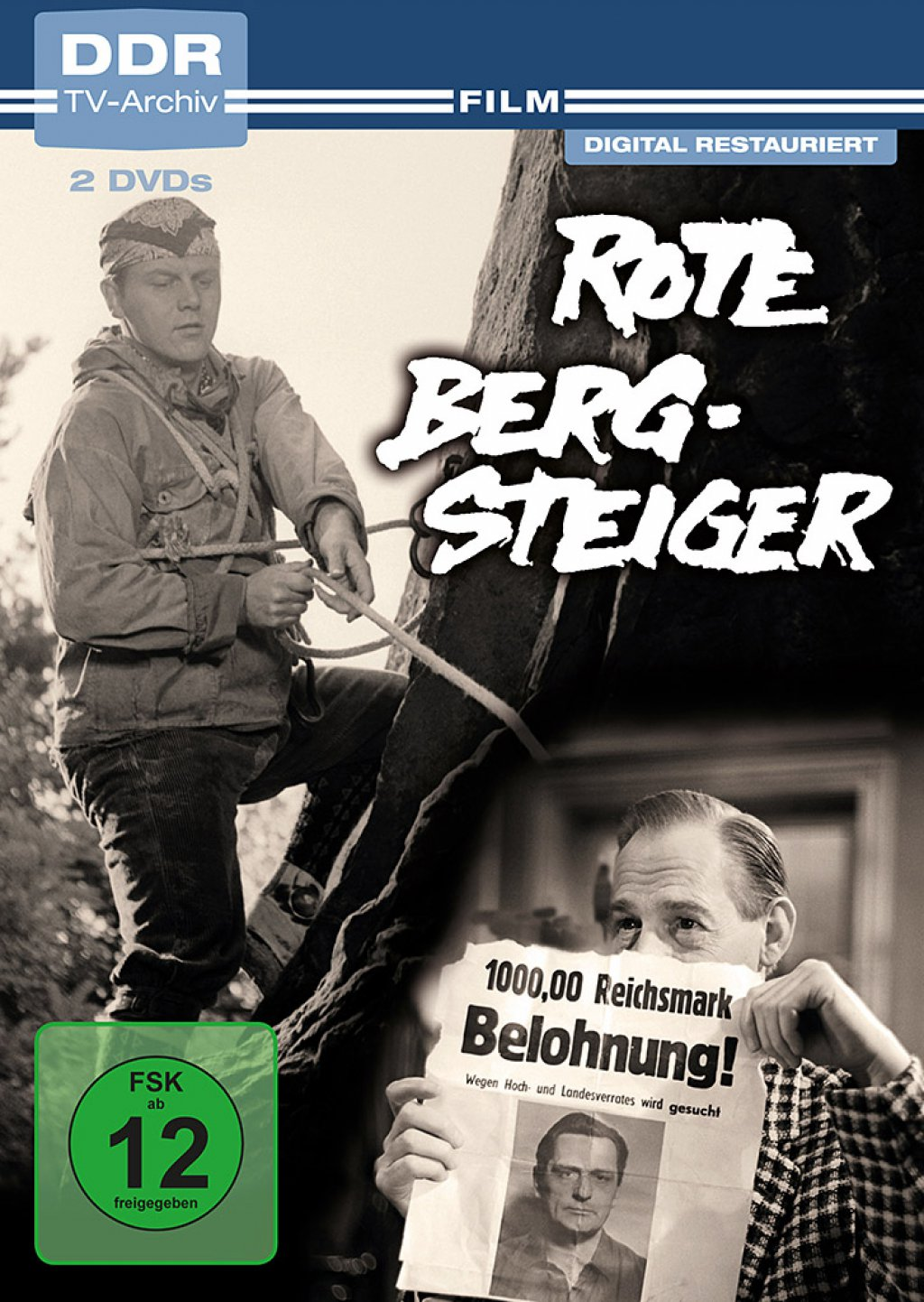 Rote Bergsteiger - DDR TV-Archiv (DVD)