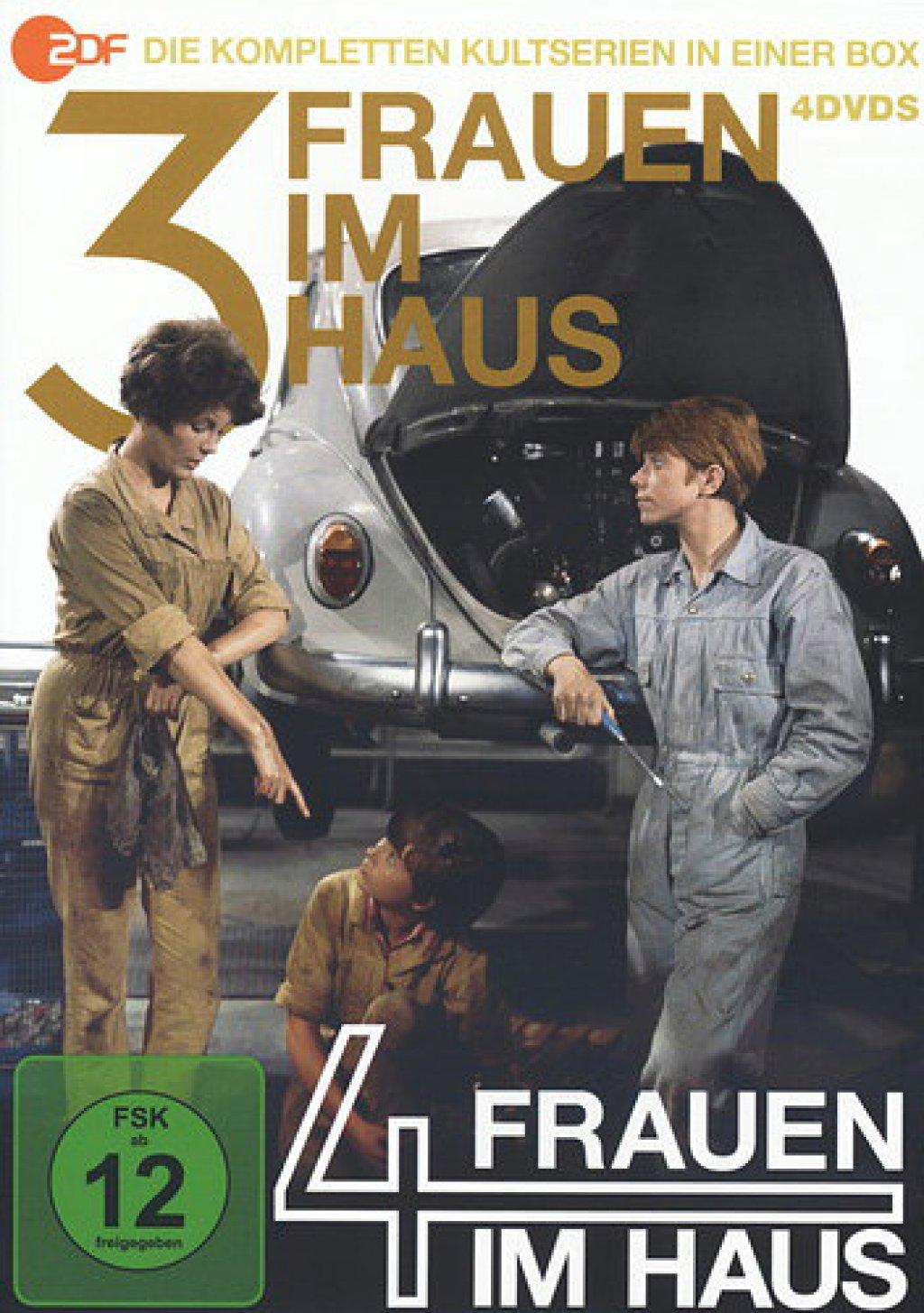 3 Frauen im Haus & 4 Frauen im Haus (DVD)