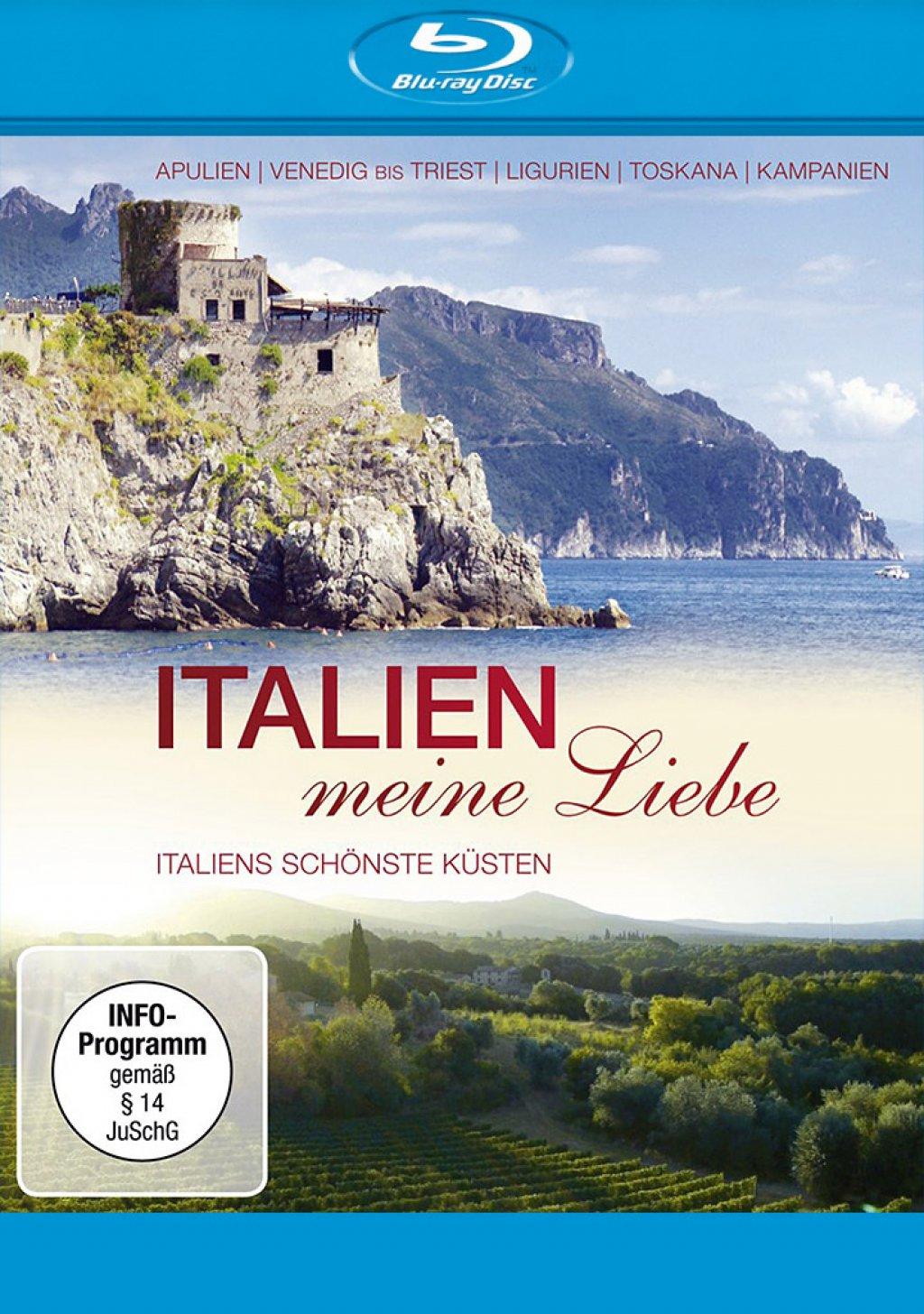 Italien, meine Liebe - Italiens schönsten Küsten (Blu-ray)