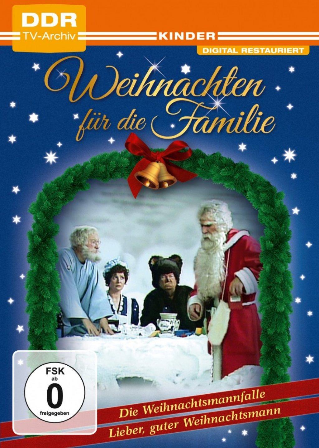 Weihnachten für die Familie: Die Weihnachtsmannfalle + Lieber guter Weihnachtsmann - DDR TV-Archiv (DVD)