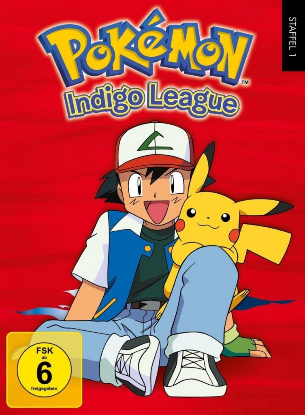 Pokémon - Staffel 01 / Indigo Liga (DVD)