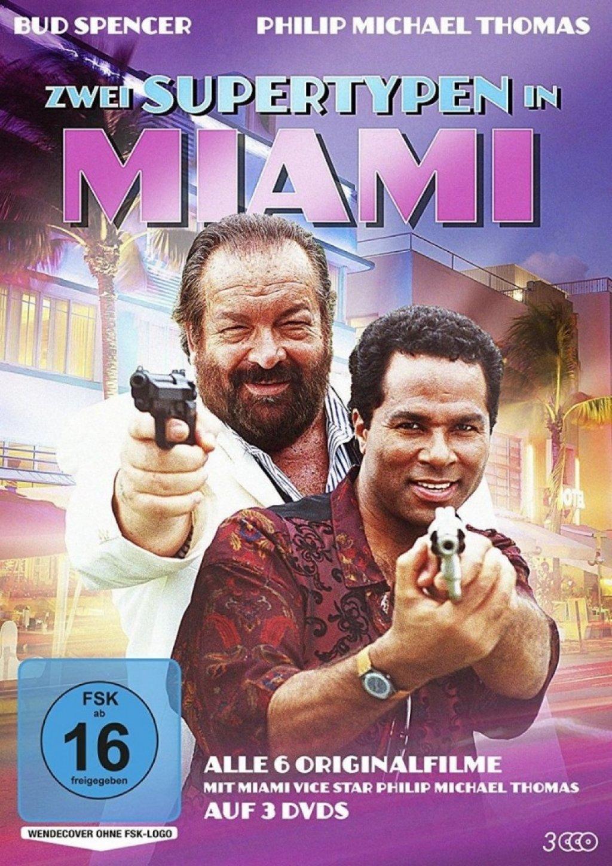 Zwei Supertypen in Miami - Alle 6 Filme (DVD)