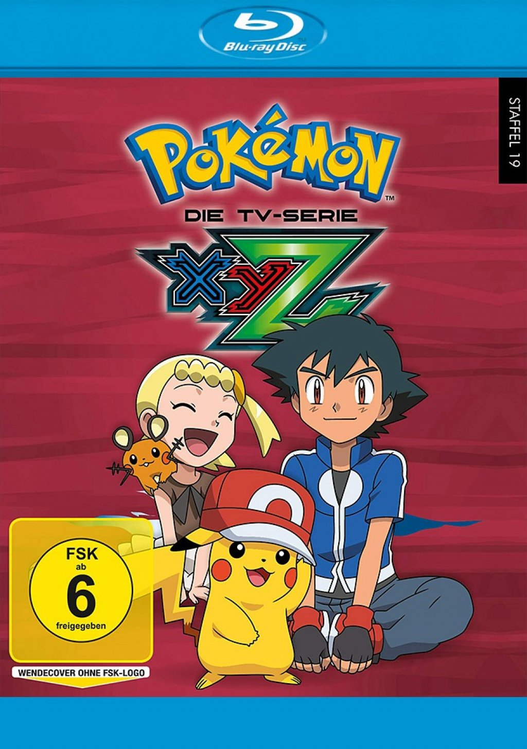 Pokémon - Staffel 19 / XYZ (Blu-ray)