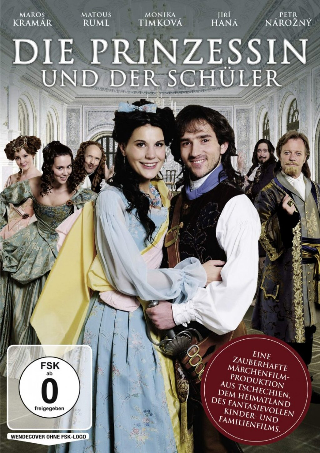 Die Prinzessin und der Schüler (DVD)